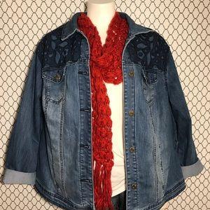 Avenue Denim | Laced Denim Jacket